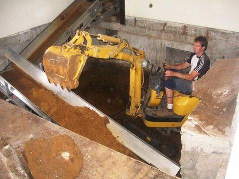 basement digout